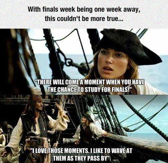 Studying For Finals Week