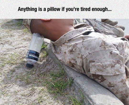 Marines Can Sleep Anywhere
