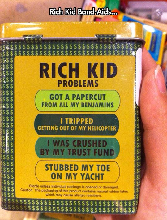 Rich Kid Problems