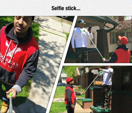 funny-selfie-stick-fake-phone