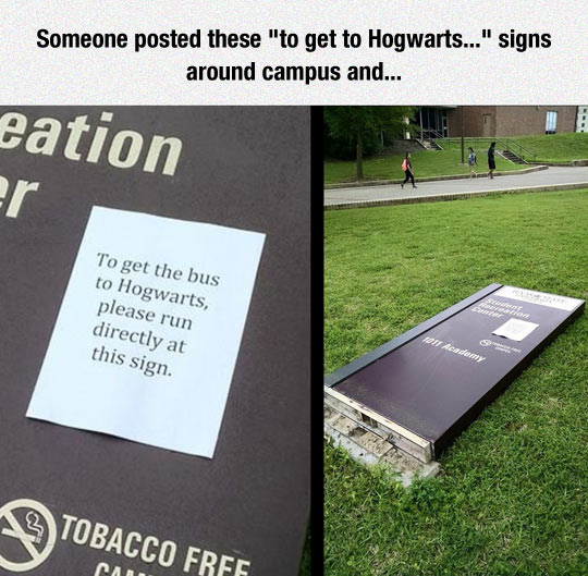To Get To Hogwarts...