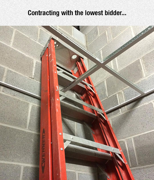 funny-trapped-ladder-structure-fail