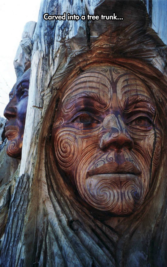 Awesome Maori Carving