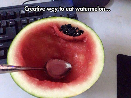 How To Properly Eat A Watermelon