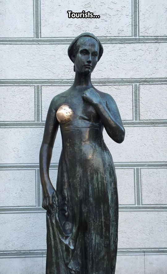 The Juliet Statue In Verona