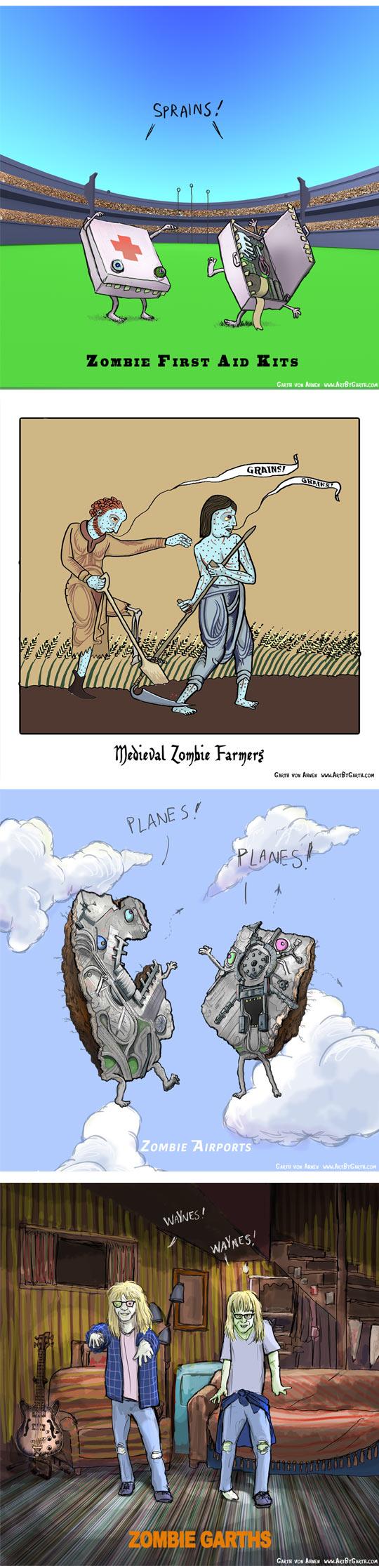 funny-zombie-pun-tunnels-train-Wayne