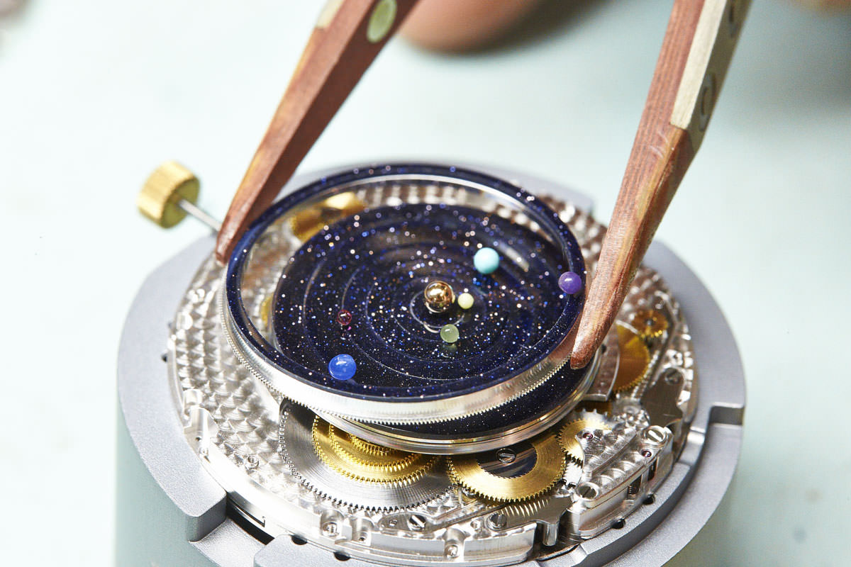 A watch that puts The Solar System on your wrist