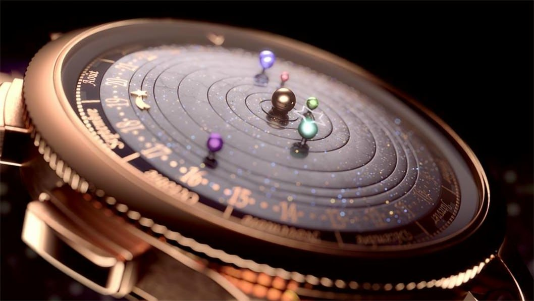 A watch that puts The Solar System on your wrist1