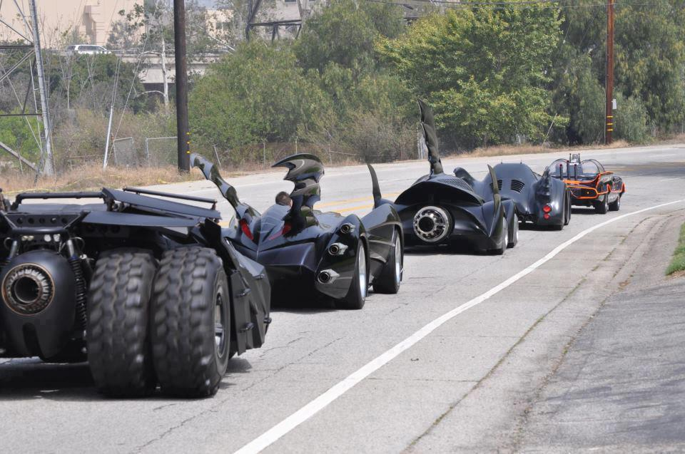 All of the Batmobiles