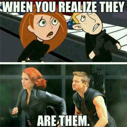 Black Widow And Hawkeye, The Beginnings