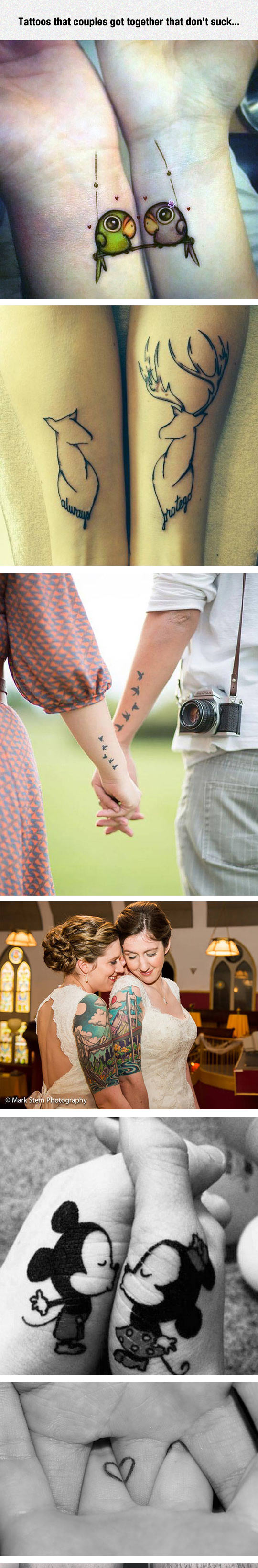 Couple Tattoos That Are Actually Good