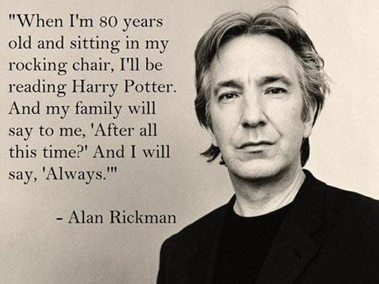 I Love Alan Rickman