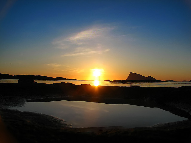 It's Midnight In The Arctic Circle...And The Sun Is Shining Brightly8
