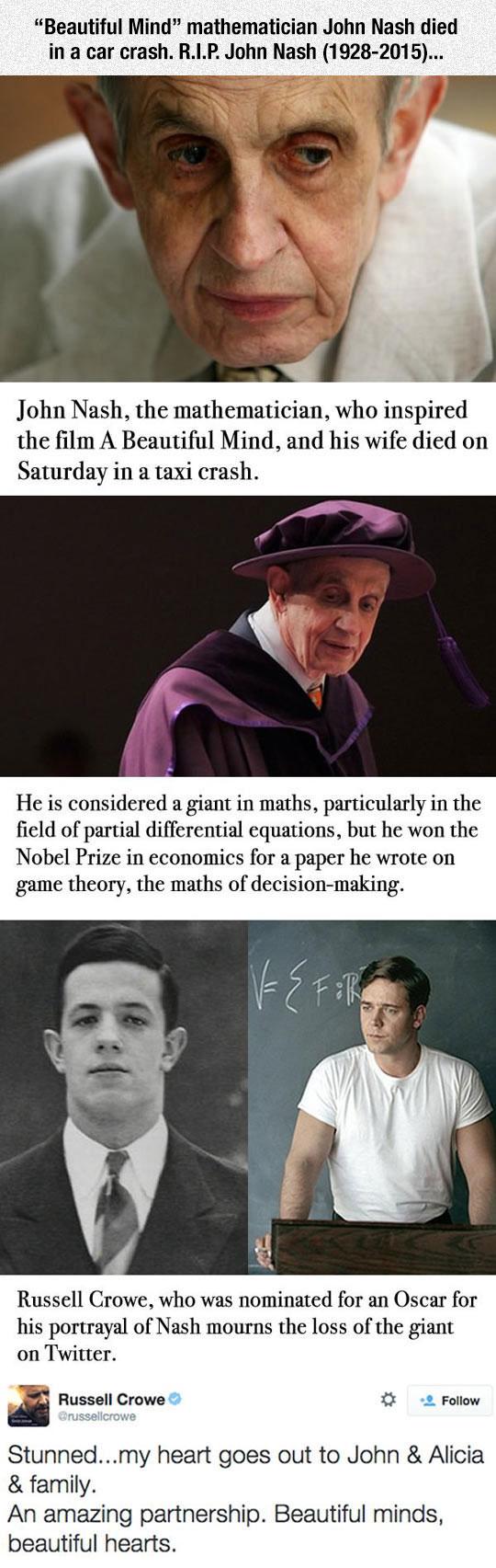 Rest In Peace John Nash