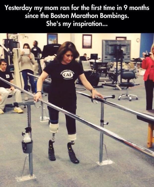 She's An Inspiration For All Of Us