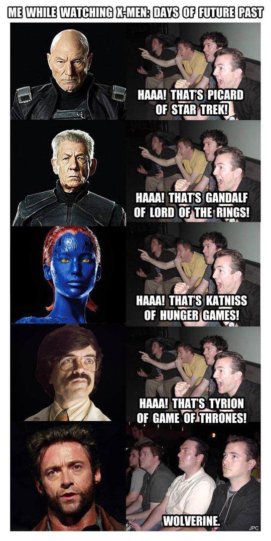 Watching X-Men