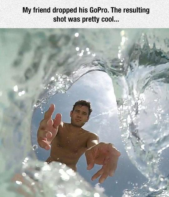 cool-GoPro-shot-falling-water
