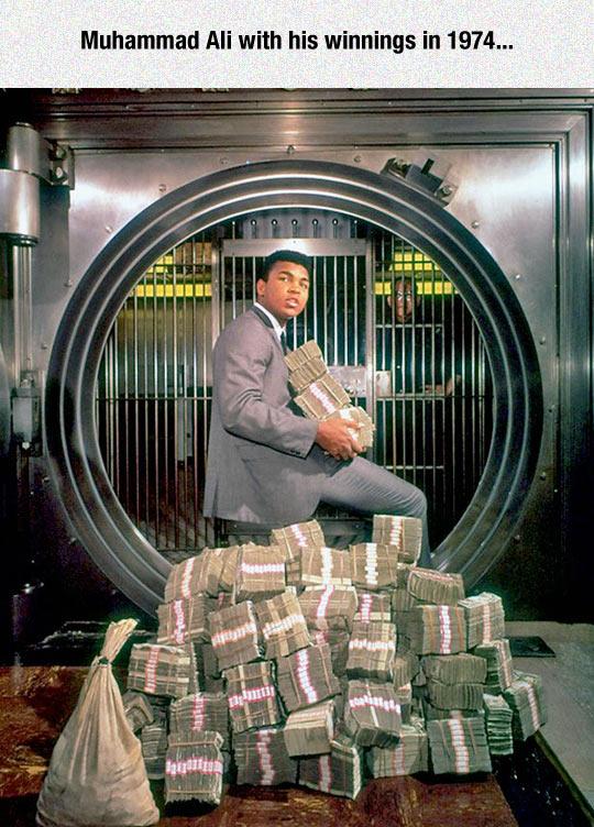 Muhammad Ali And His Winnings