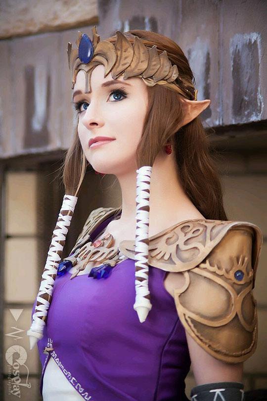 Zelda Cosplay Win
