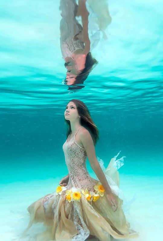 Ocean Flower Dress
