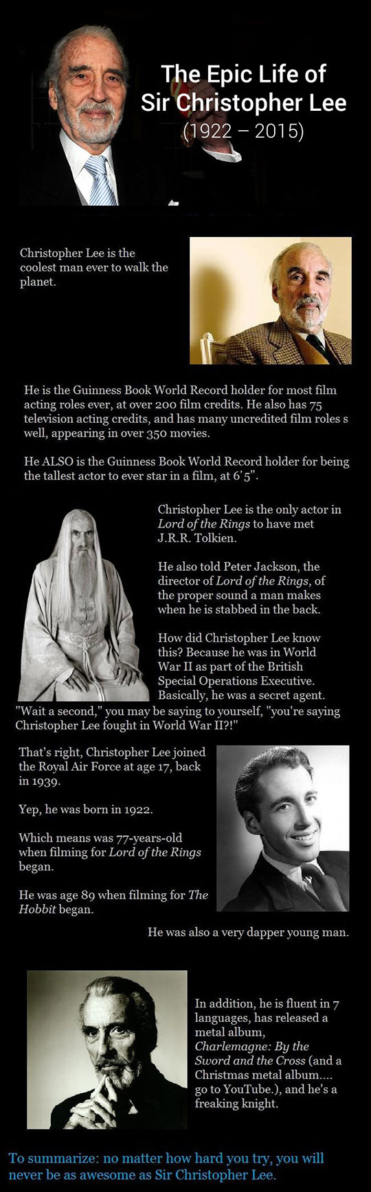 cool-life-Christopher-Lee-movies-achievements