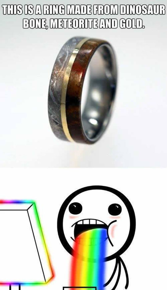 The Coolest Ring On Earth