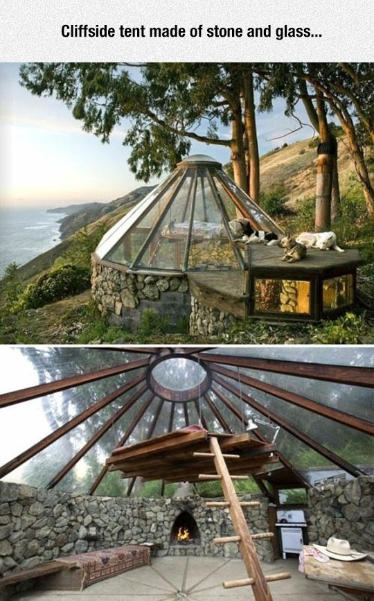 cool-stone-glass-wood-house-tent