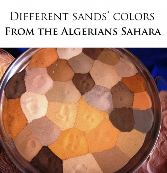 The Colors Of Sand
