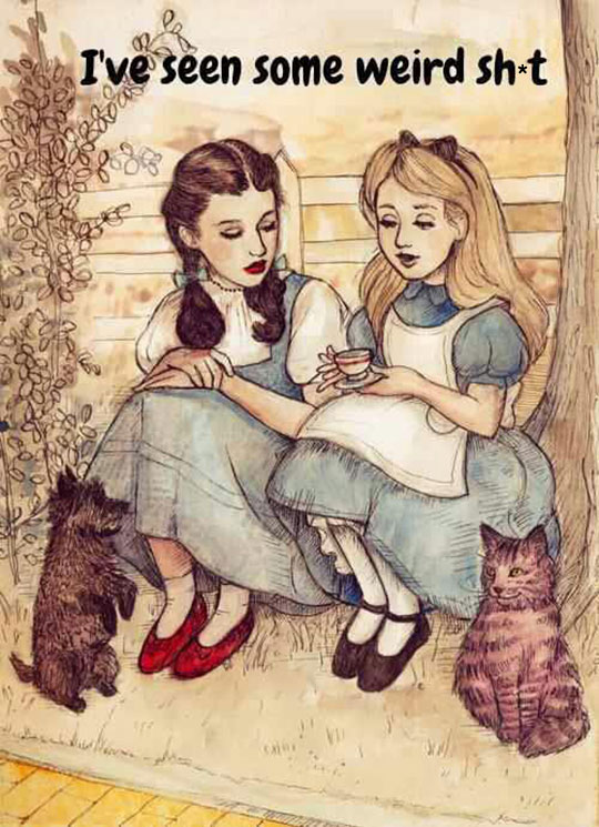 Alice And Dorothy Bonding