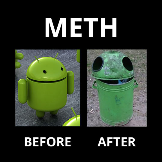 Meth Abuse: Not Even Once
