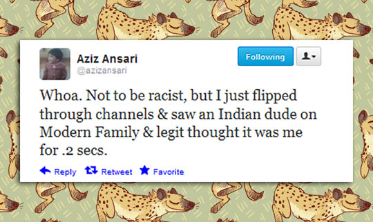 funny-Aziz-Ansari-tweet-Indian-twin