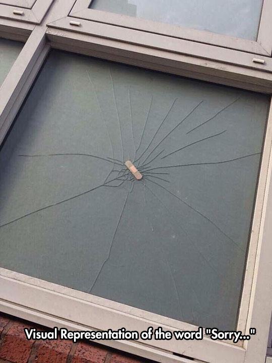 funny-Band-Aid-window-glass-broken