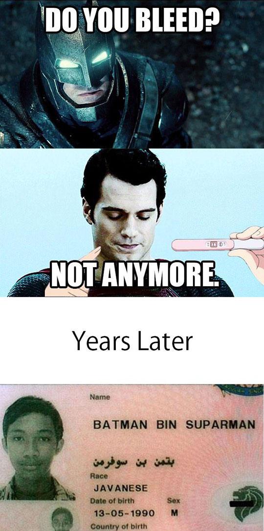 Batman And Superman Get Friendly