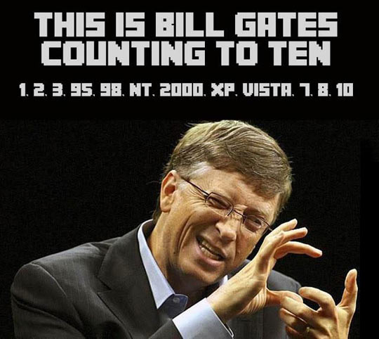 How Bill Gates Counts To Ten