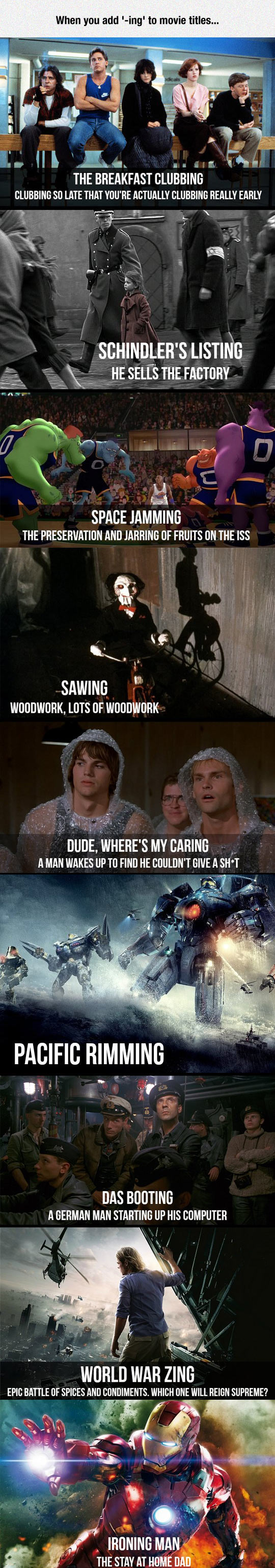 What Is The Movie About Now?