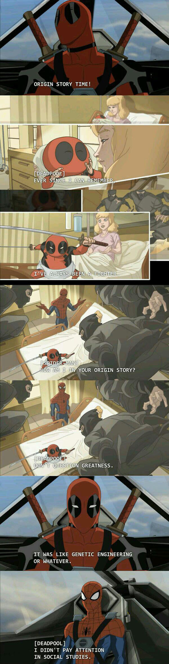 funny-Deadpool-story-origin-Spiderman