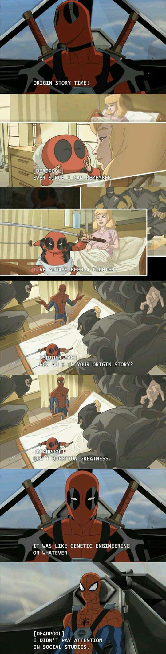 Origin Story Time