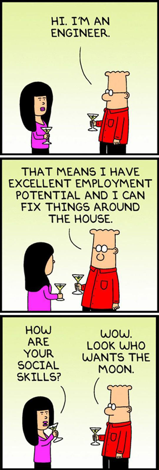Dilbert Knows What