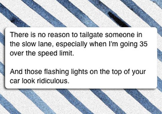 funny-Facebook-status-slow-lane