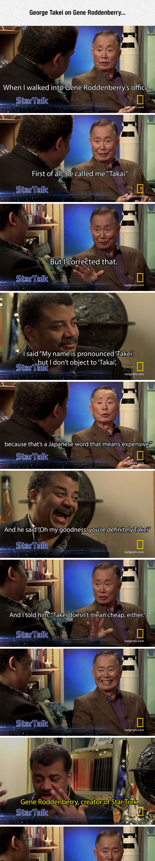 George Takei On Gene Roddenberry