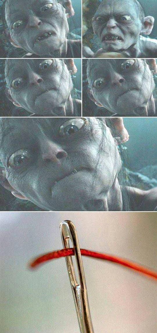 funny-Gollum-face-LOTR-needle