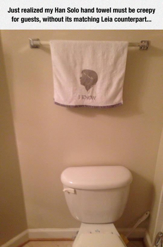 Han Solo Towel