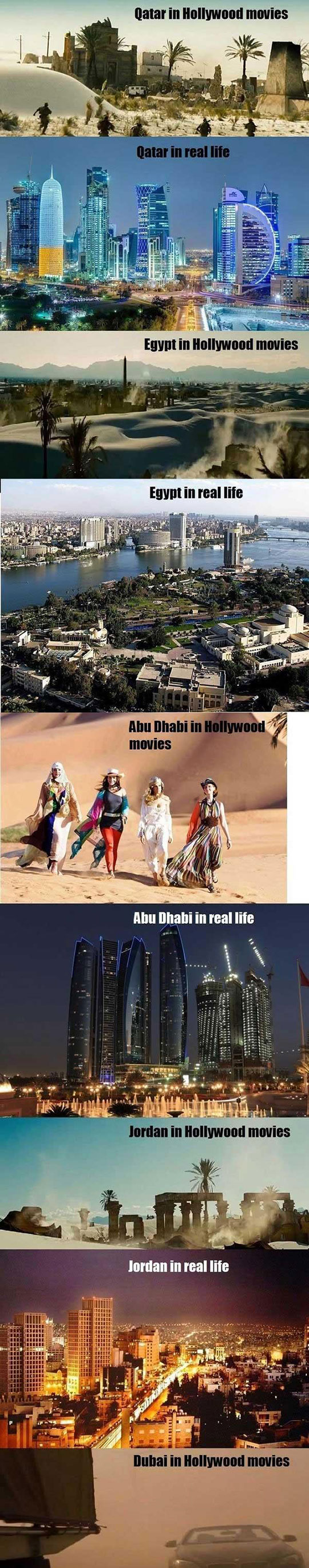 Arabs: Hollywood Vs Reality
