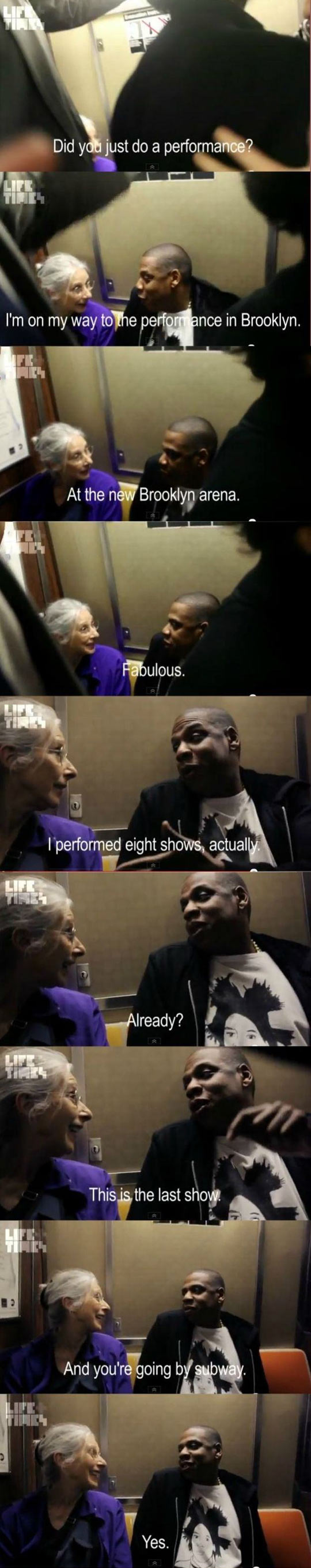 ffunny-Jay-Z-subway-old-lady-talking
