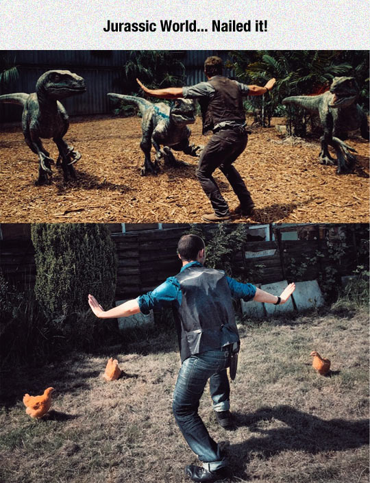Jurassic World On A Budget