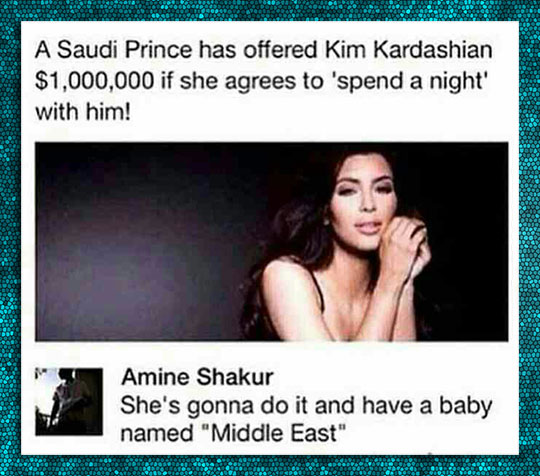 funny-Kim-Kardashian-offer-son-Middle-East