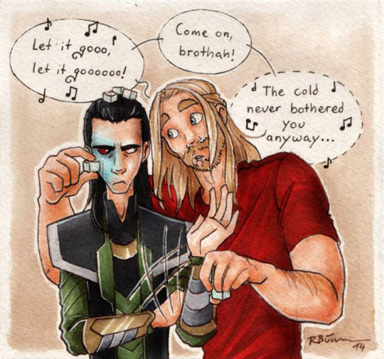 Let It Go, Loki