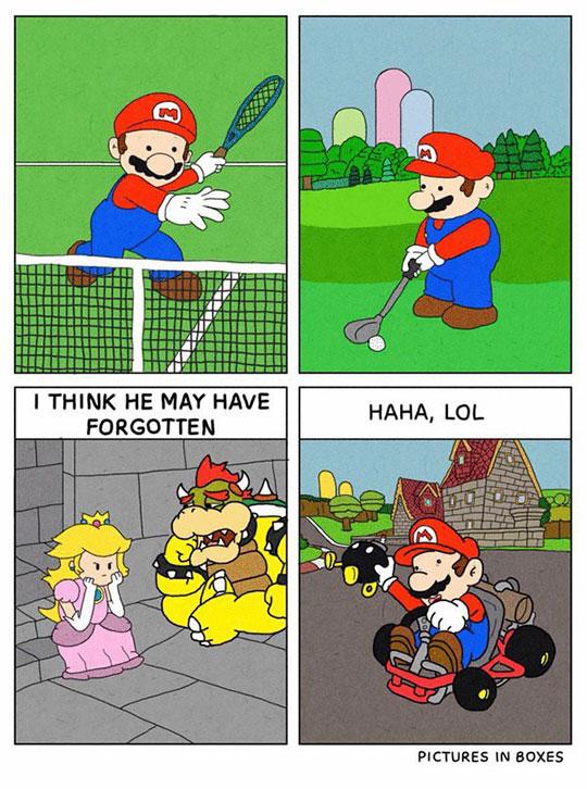 funny-Mario-Bros-playing-activities-princess