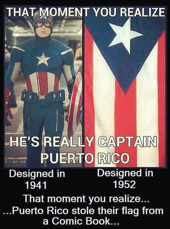 So, No Captain Puerto Rico?