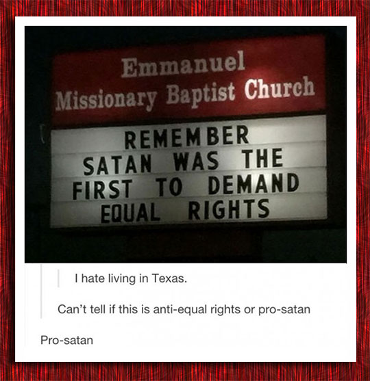 funny-Satan-equal-rights-church-billboard